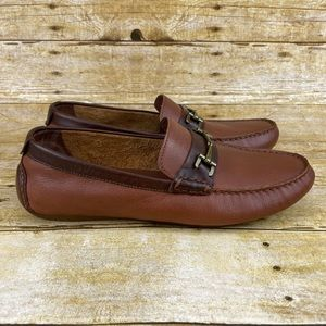 Cole Haan Somerset Link Bit Leather Loafers